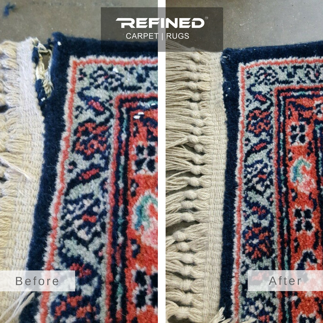 Orange County Rug Cleaners Area Rug Repair fringe repair